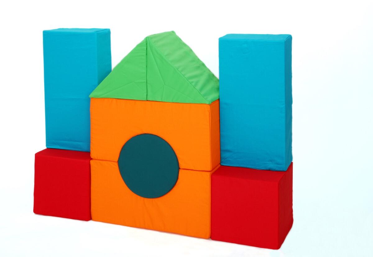 Molitanová stavebnice 9 dílů velikost L Velikost L - 20 cm