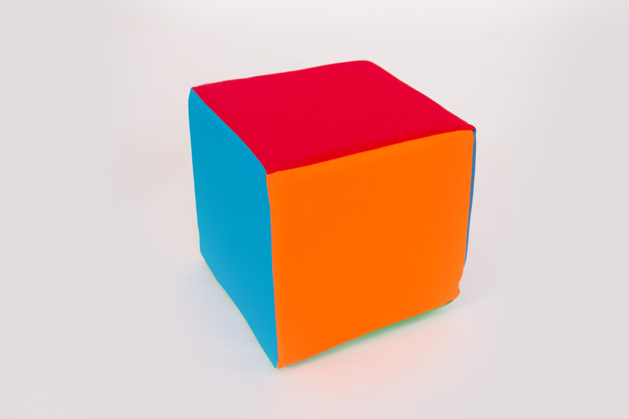 Molitanová stavebnice kostka 20x20x20 cm barevná Velikost L - 20 cm